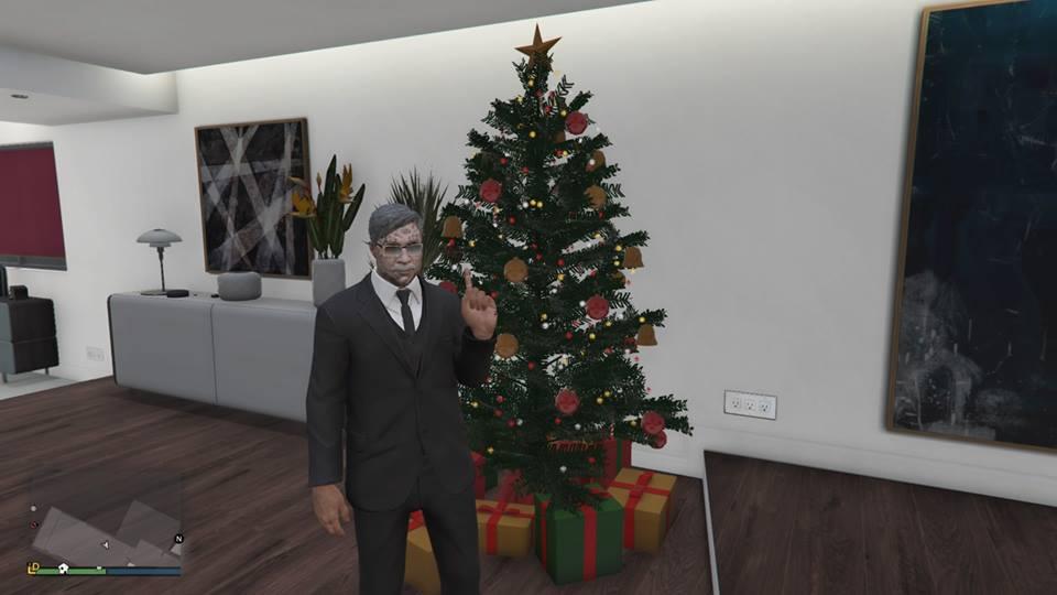 All Christmas Mask Gta 5.Gta Online S Festive Update Is Live New Masks Bad Santa
