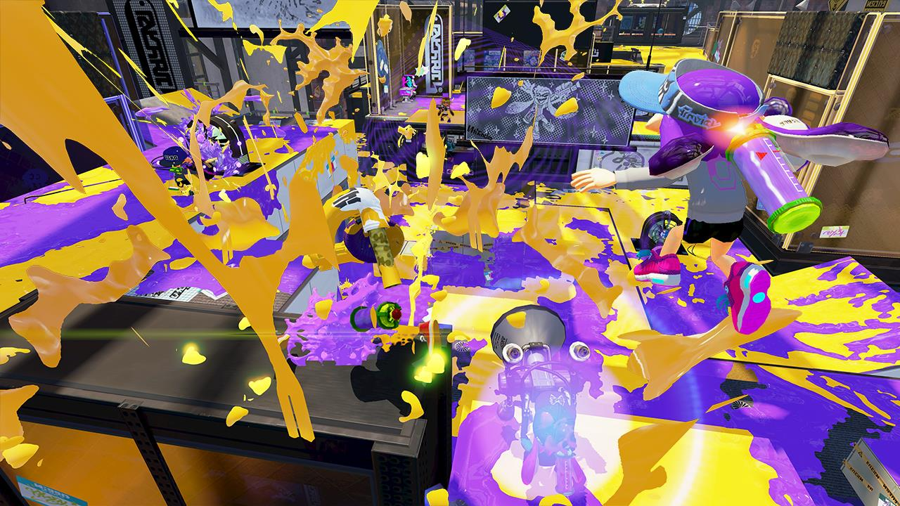 splatoon is getting two new maps watch them here vg247