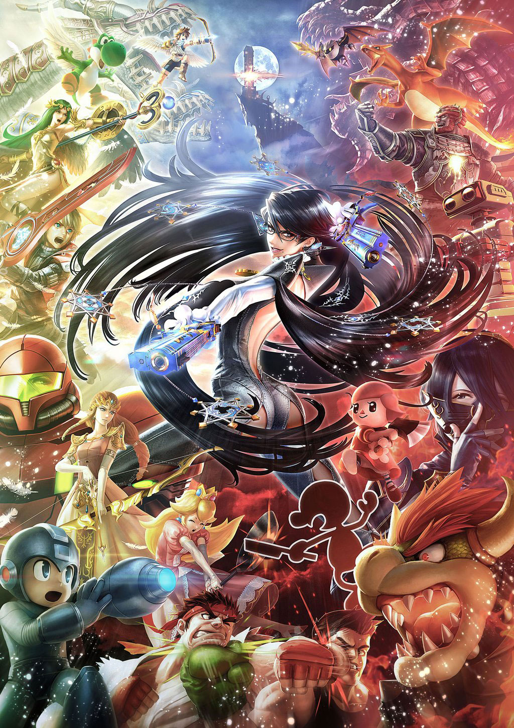 super_smash_bros_bayonetta_illustration