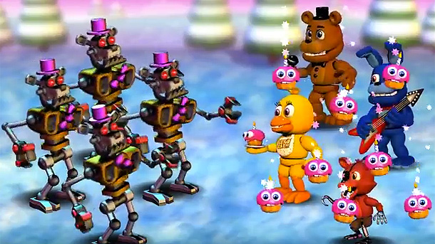 FNaF World pulled from Steam, refunds for all - VG247