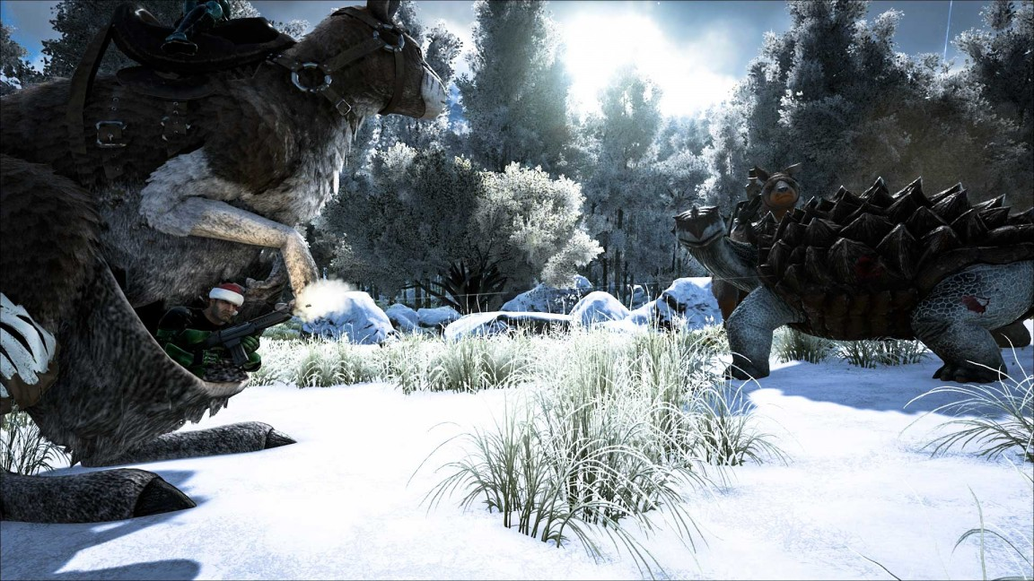 Ark: Survival Evolved - think the framerate is shocking