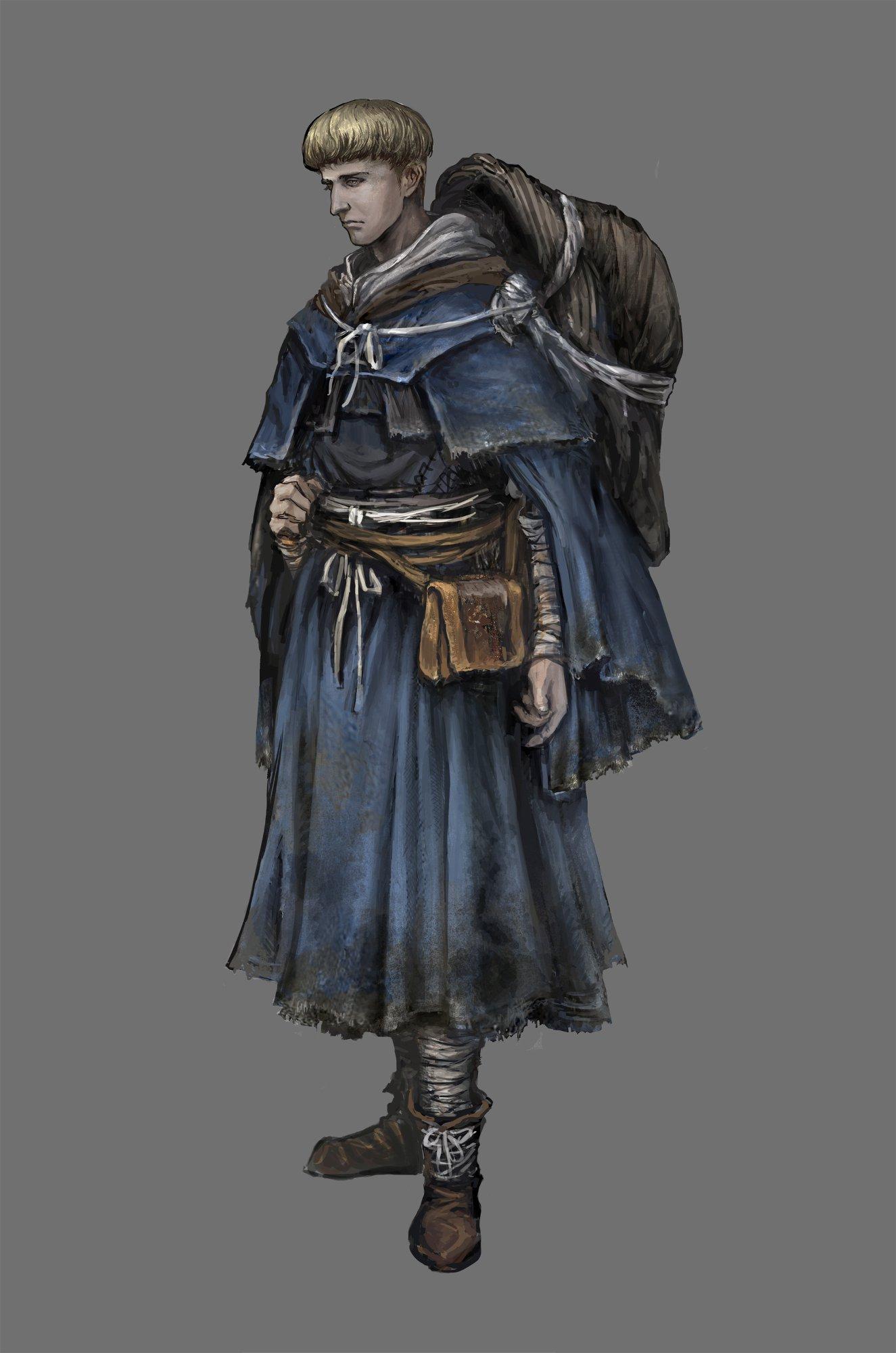 Dark Souls 3 Armor Sets Concept Art