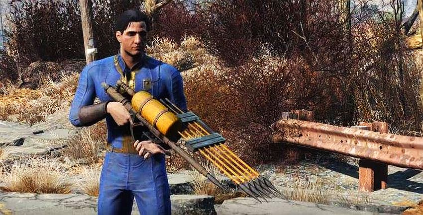 fallout 4 with our powers combined