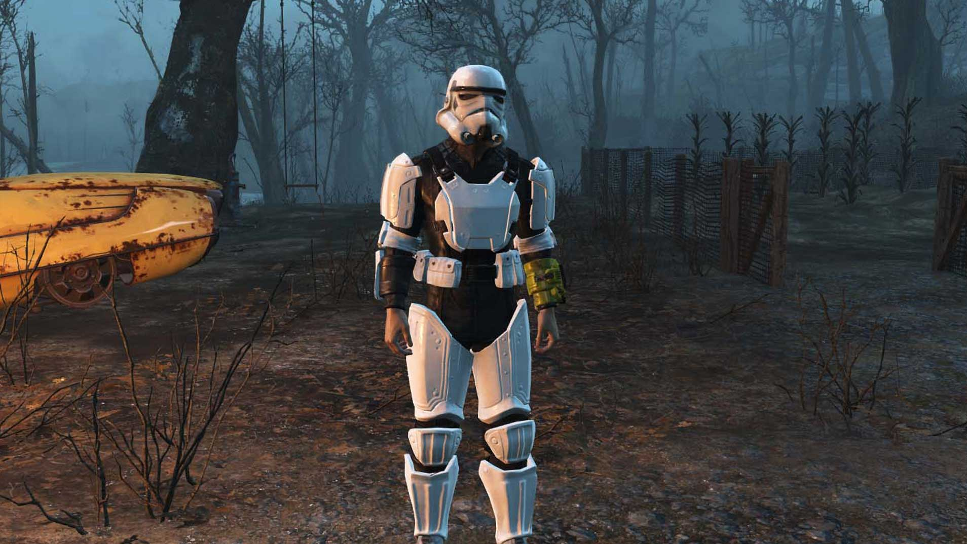 Here's a bunch of Star Wars Fallout 4 mods for you - VG247