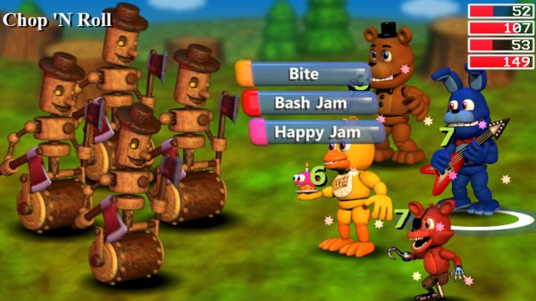 five nights at freddy s rpg spin off fnaf world launches on steam