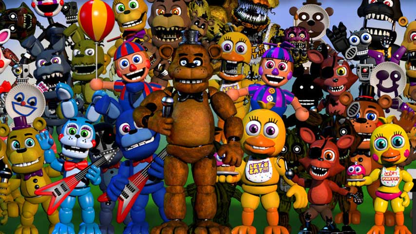 fnaf world free  full version game
