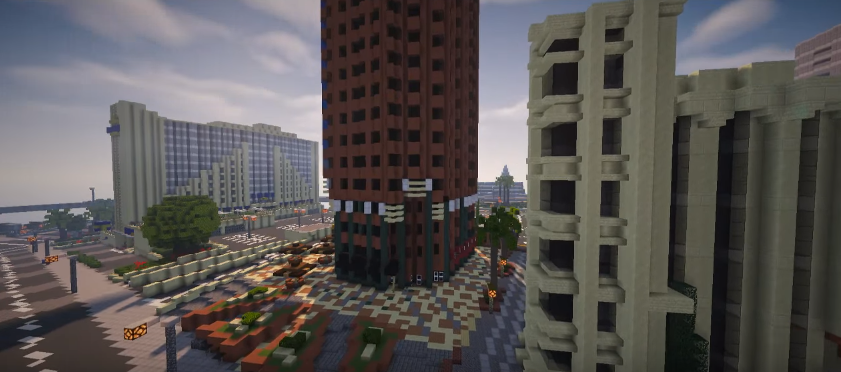 The Entirety Of GTA Map Is Being Remade In Minecraft VG - Minecraft last of us map
