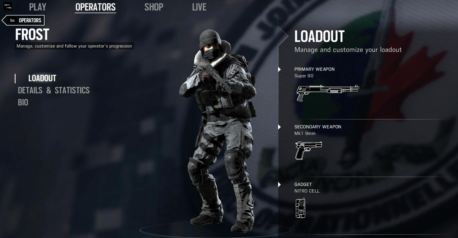 Rainbow Six Siege Operation Black Ice Wallpapers Hd Wallpapers