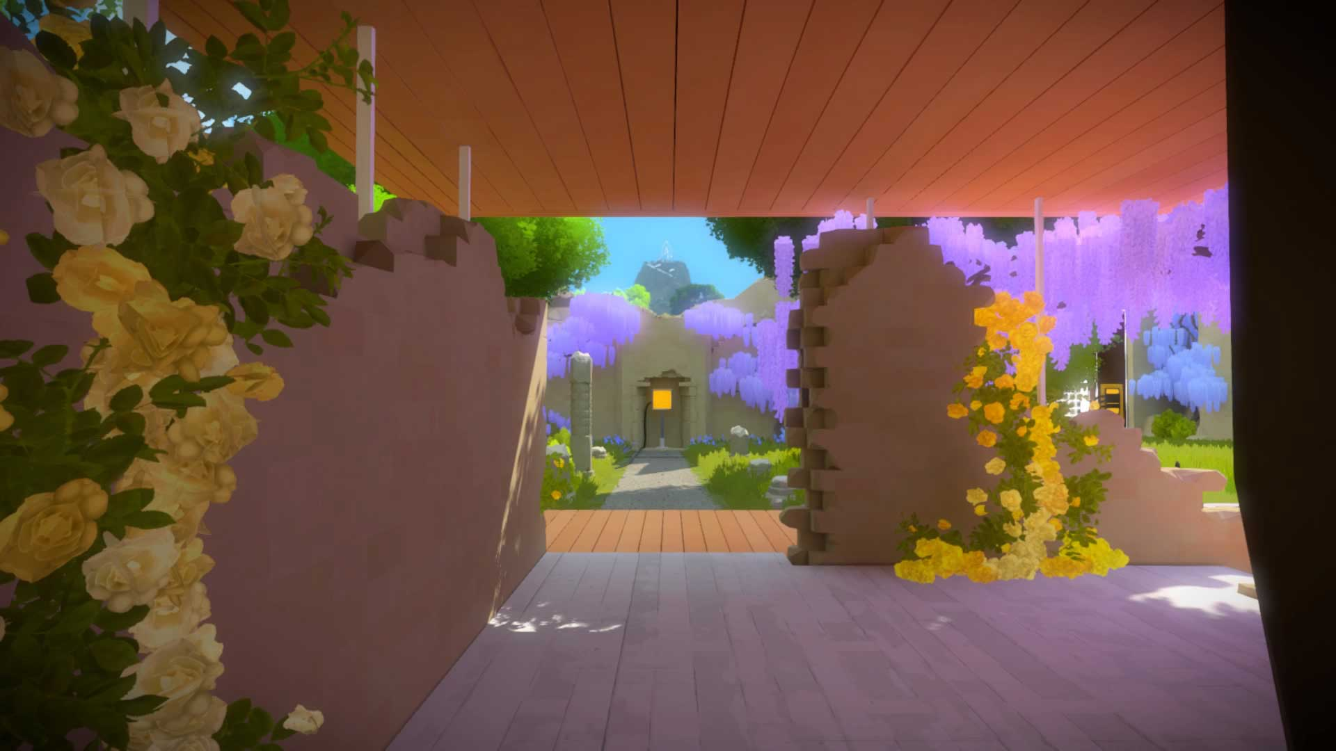 the_witness_how_to_solve_first_puzzle_garden_3
