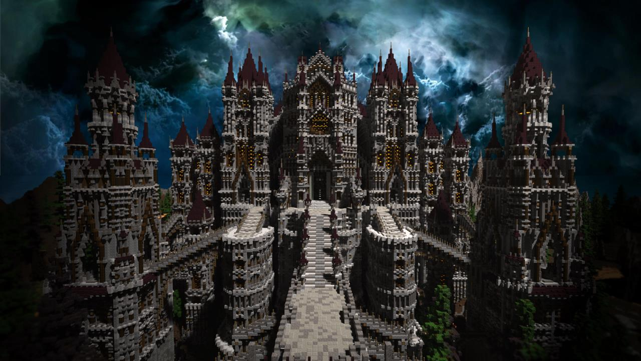 Dark Souls Anor Londo Remade In Minecraft By One Dude VG - Minecraft explore spiele
