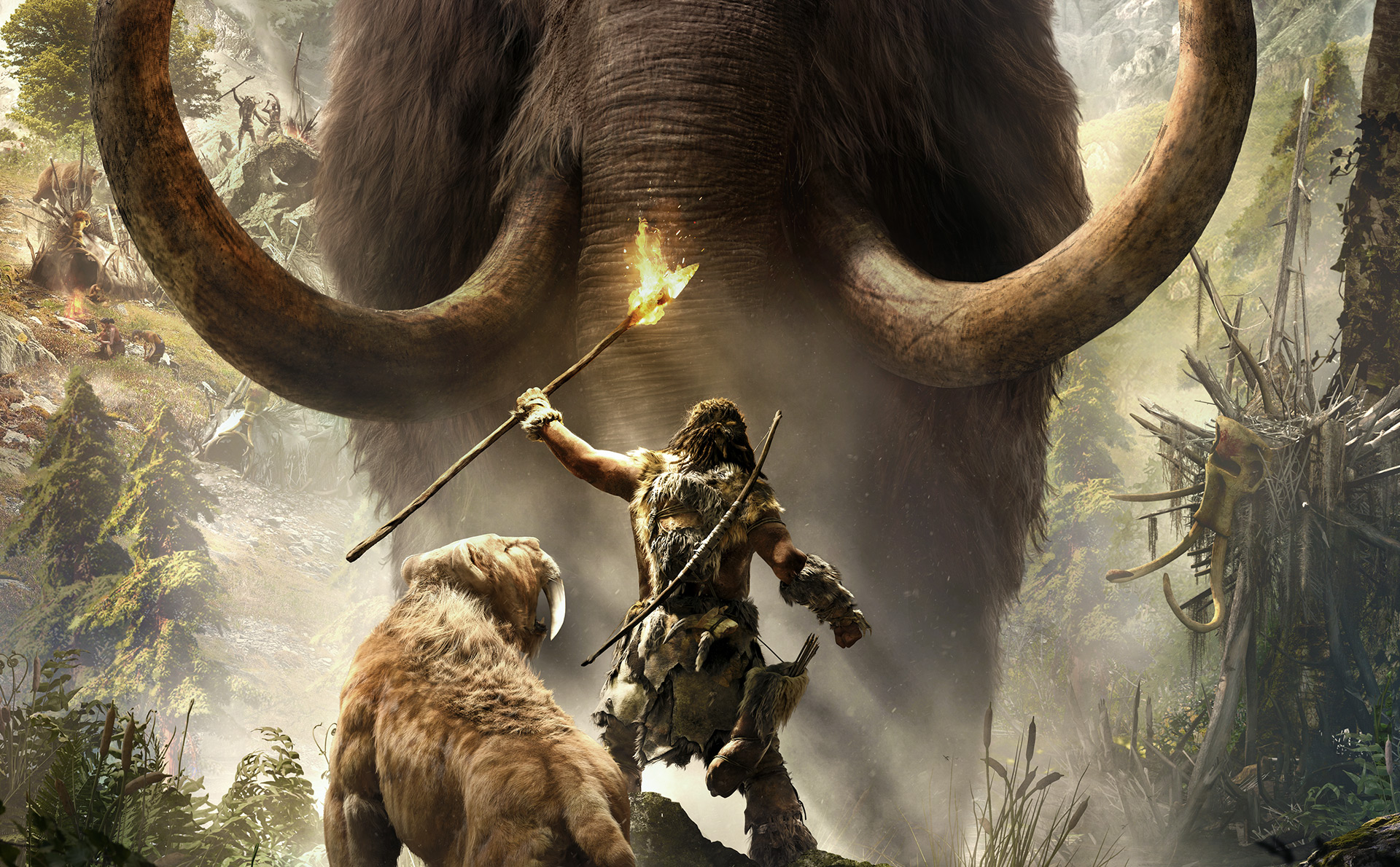 Let S Talk About How Hilariously Awful Far Cry Primal S Mammoth Missions Are Vg247