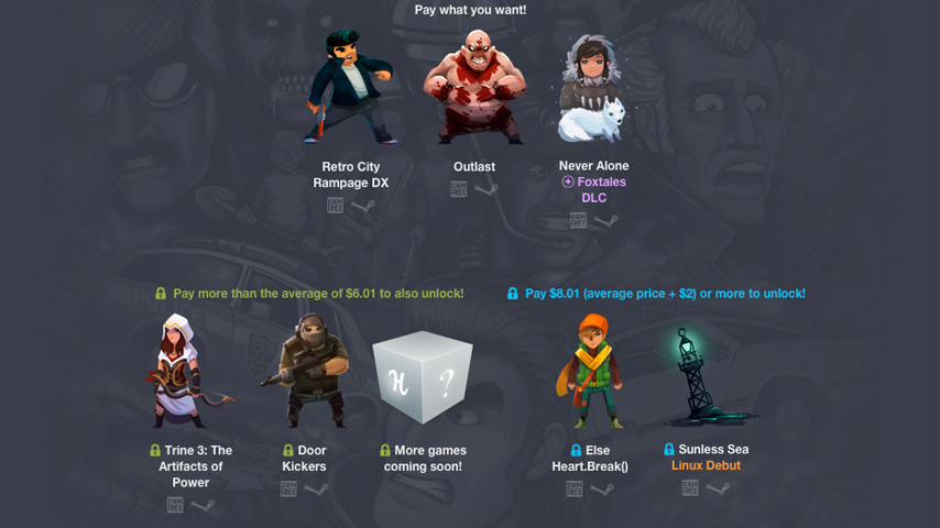 Outlast, Never Alone, Sunless Sea and Trine 3 featured in