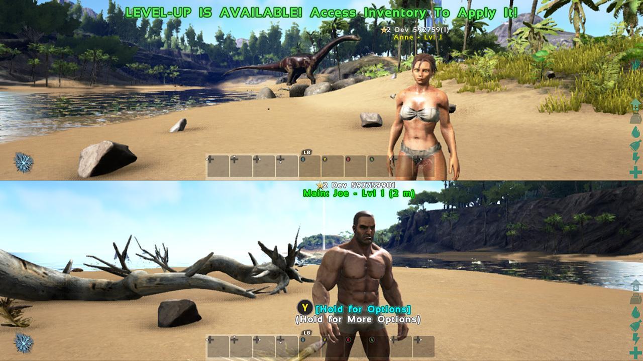 Ark Survival Evolved patch is live: splitscreen, new