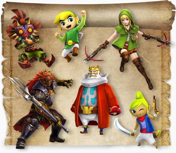 Hyrule Warriors Legends Season Pass Dated And Detailed Vg247