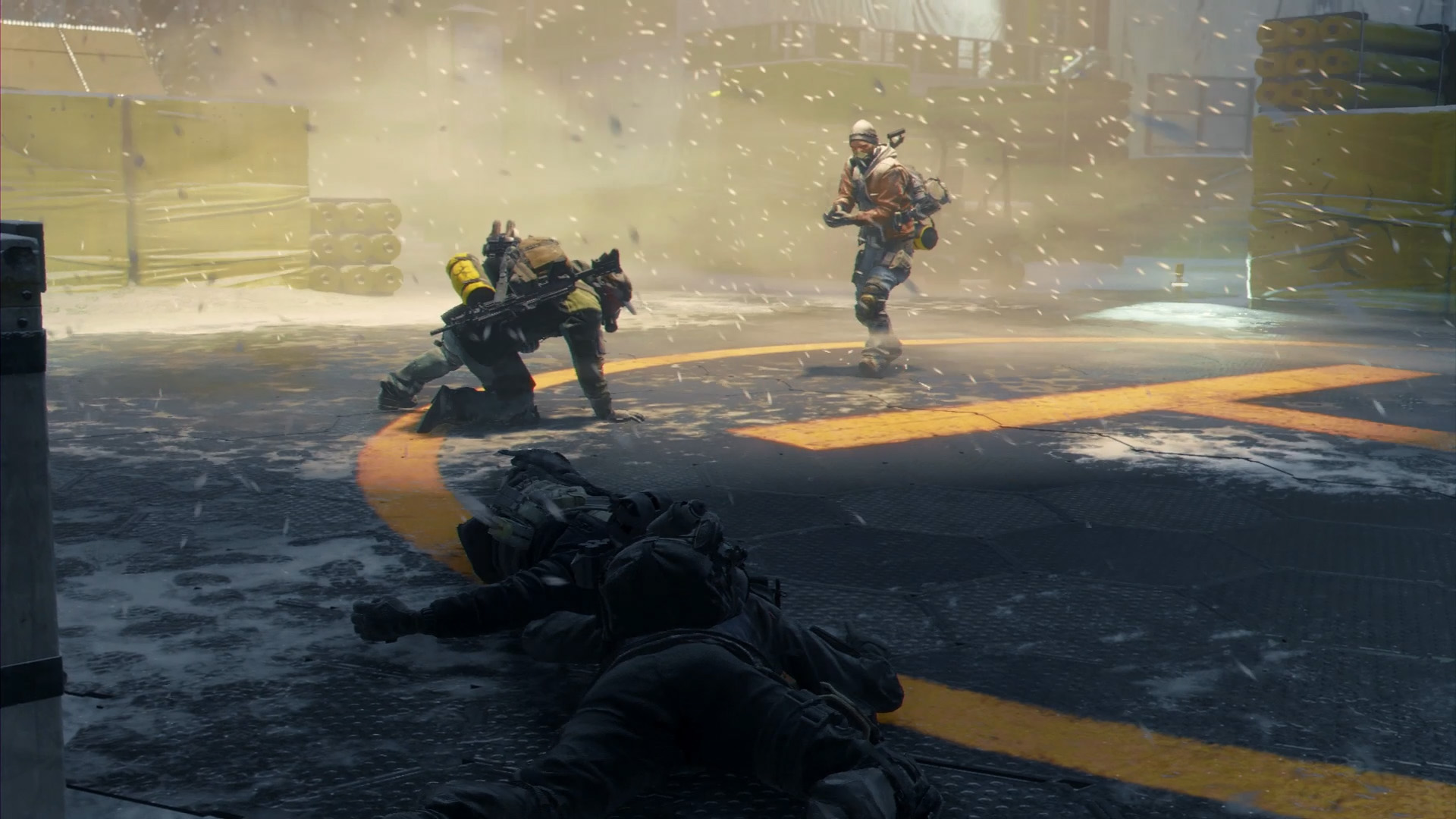 How To Stop A Manhunt In The Division Without Firing A Shot Vg247