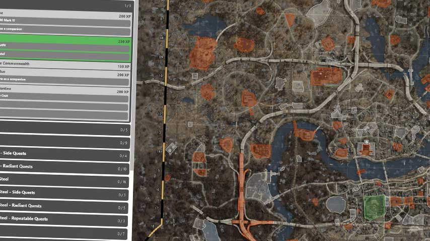 picture relating to Fallout 4 Printable Map titled Amazing Fallout 4 listing application will guarantee your self look at and do