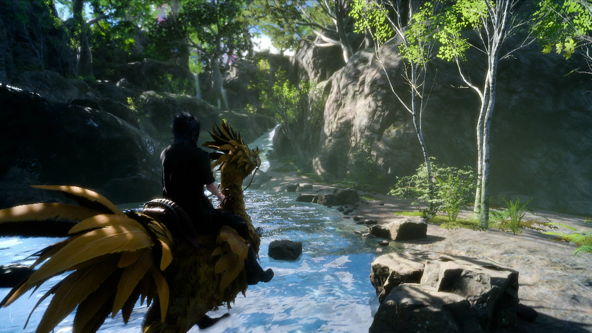 Check 30 Minutes of Gameplay of Final Fantasy XV in Japanese