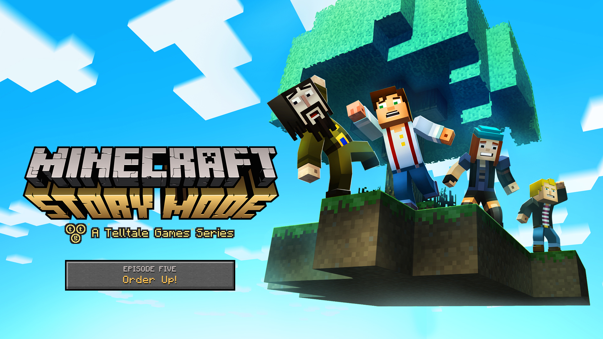 Minecraft Story Mode Episode 5 Out March 31 Three New Episodes