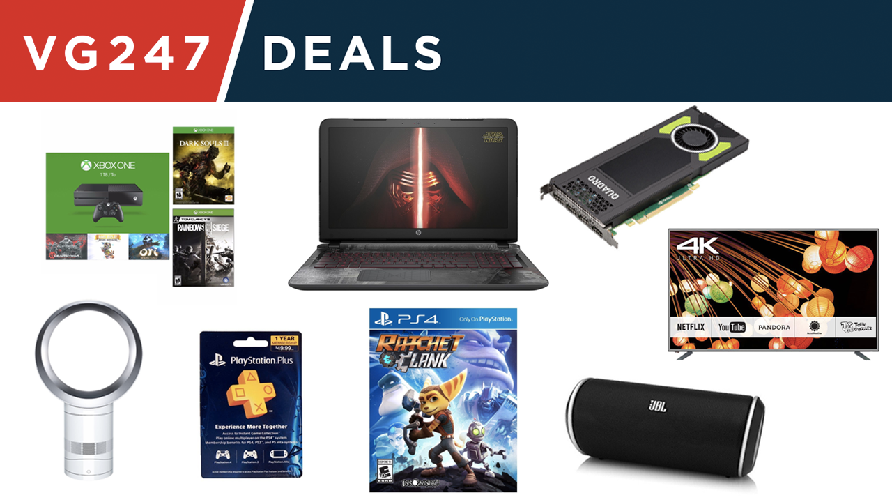 Reductions on laptops, Xbox One, PS4, PC and more