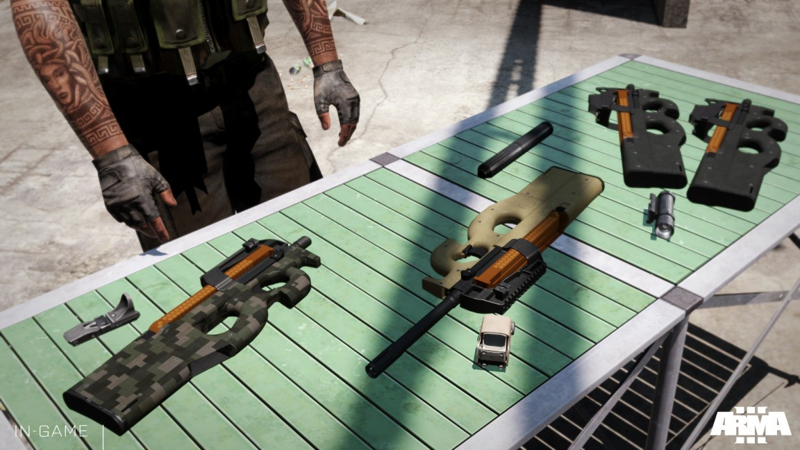 Free weapon pack for Arma 3 hits Steam Workshop alongside price