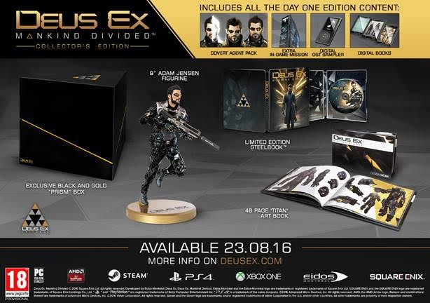 Deus Ex: Mankind Divided 101 Trailer Gets You Up To Speed