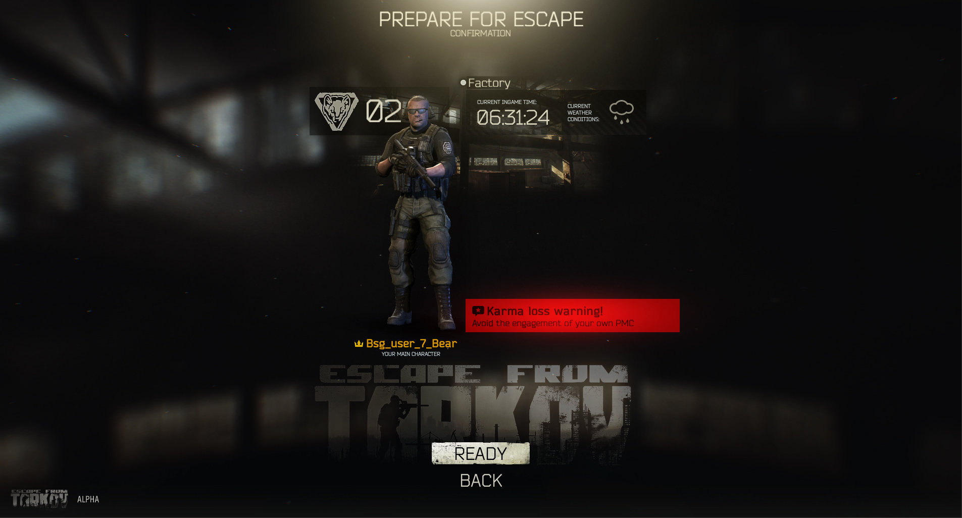 Have a look at Escape from Tarkov's UI in these new screens