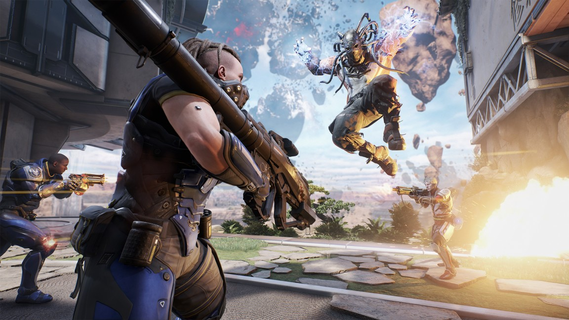 LawBreakers coming to PS4, promises no
