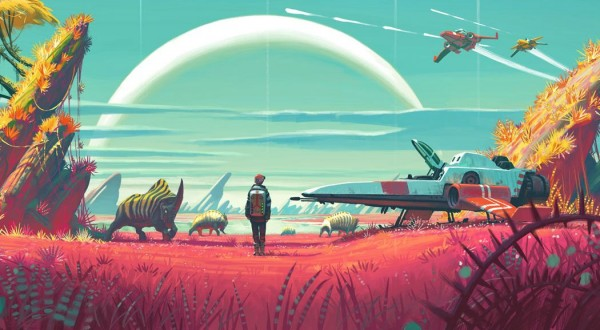 No Man's Sky officially goes gold