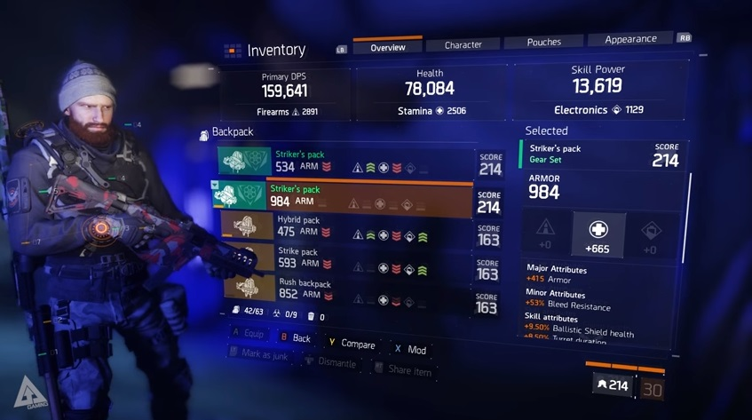 The Division How To Get The Best Gear Score Vg247
