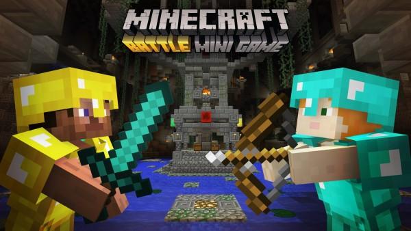 Minecraft Battle Mini Game