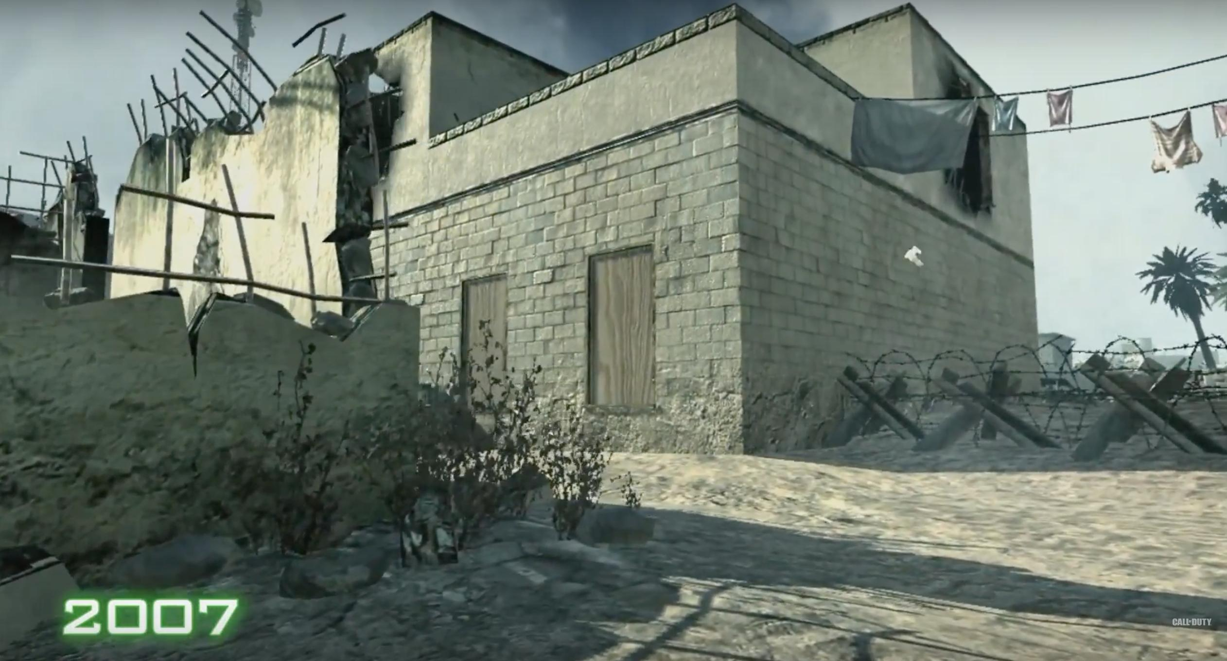See how big of a graphical upgrade all of Duty: Modern Warfare ... - ^
