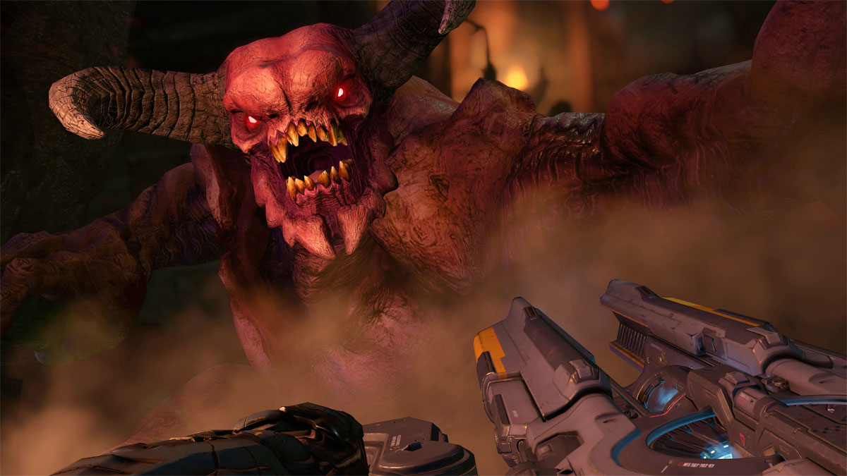 Doom's first DLC pack, Unto the Evil, is out now | VG247