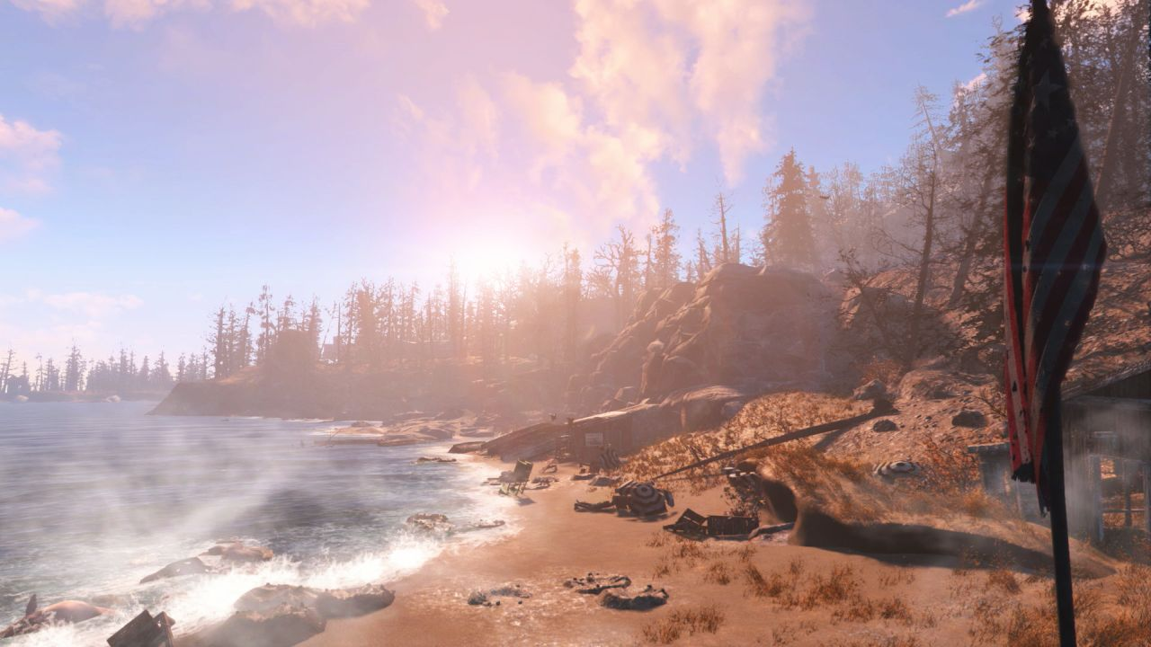 Fallout 4 Far Harbor Dlc Cleansing The Land And The Way Life Should Be Vg247