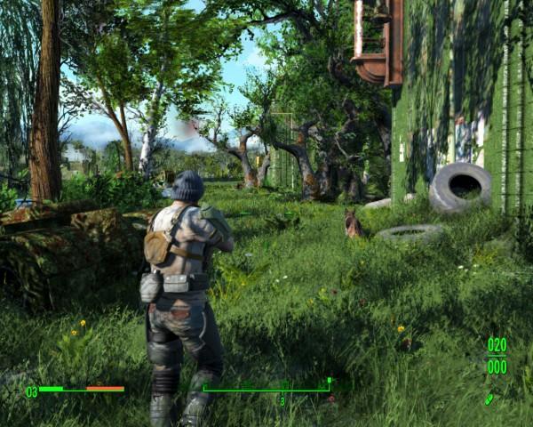 Fallout 4 mod brings greener grass to Boston - VG247