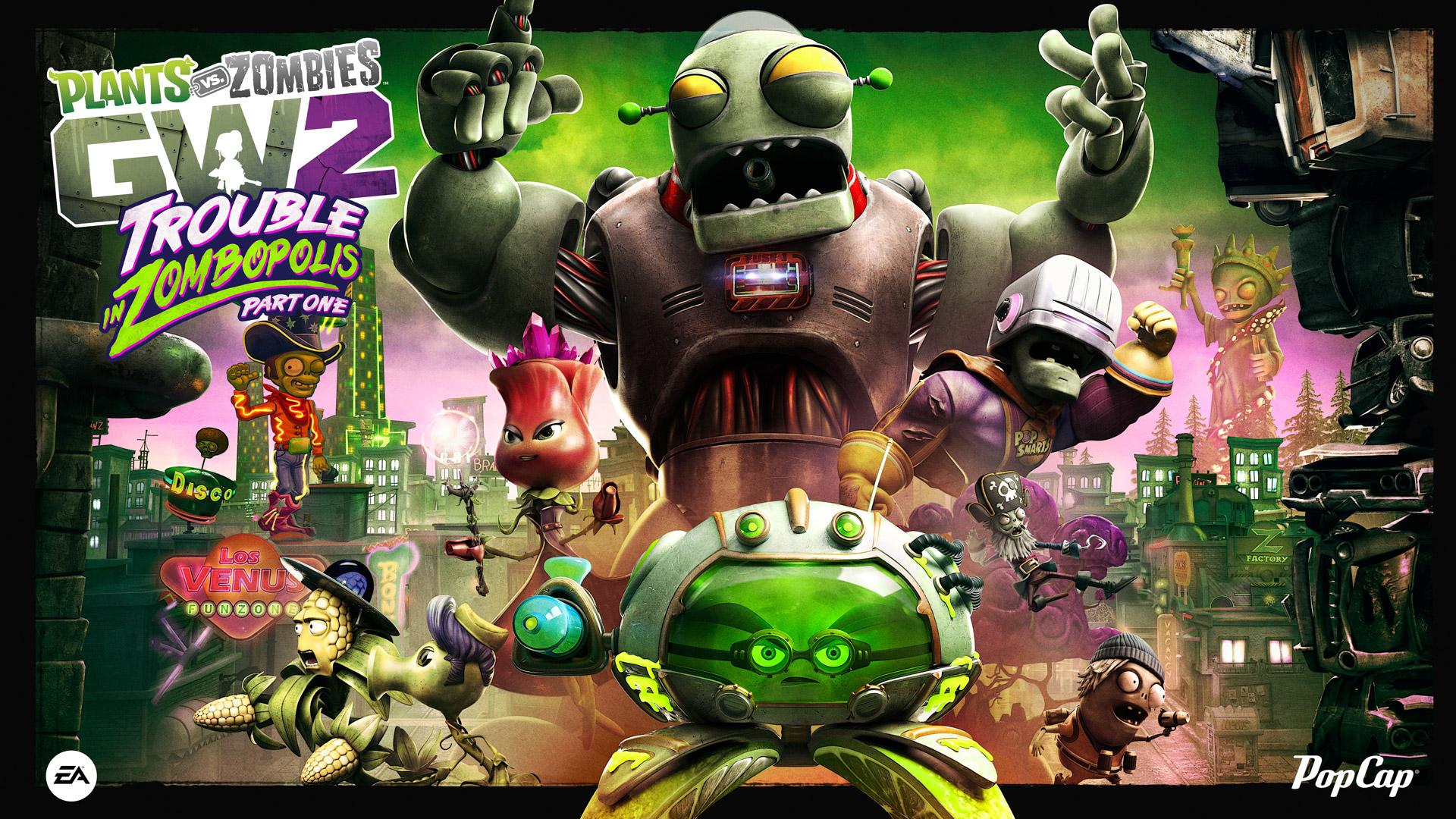 Plants Vs Zombies Garden Warfare 2 S First Big Summer Update Detailed Vg247