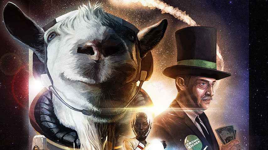 What in the hell is happening in this Goat Simulator space DLC - VG247