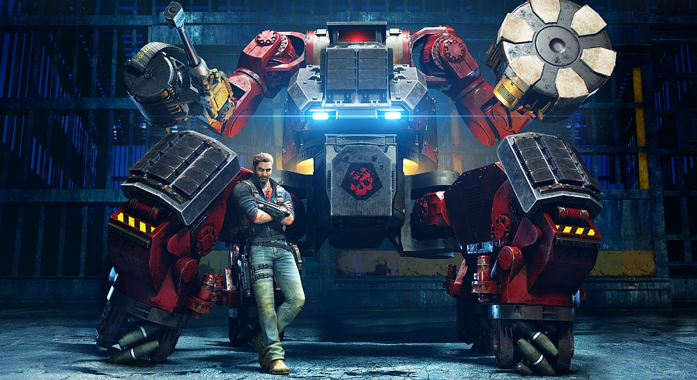 Mech Land Assault comes to Just Cause 3 early June
