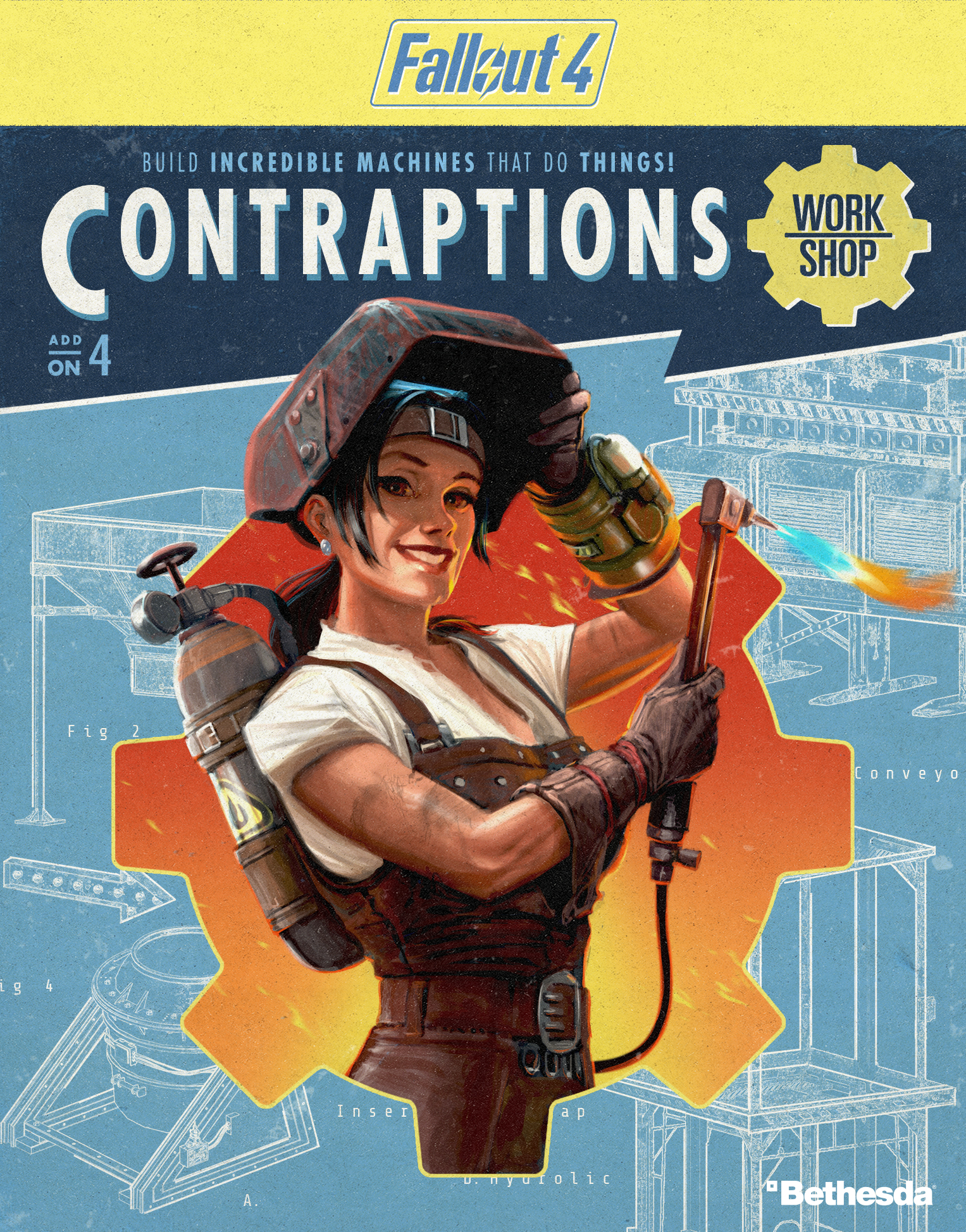 Fallout 4 Contraptions Workshop DLC launches today