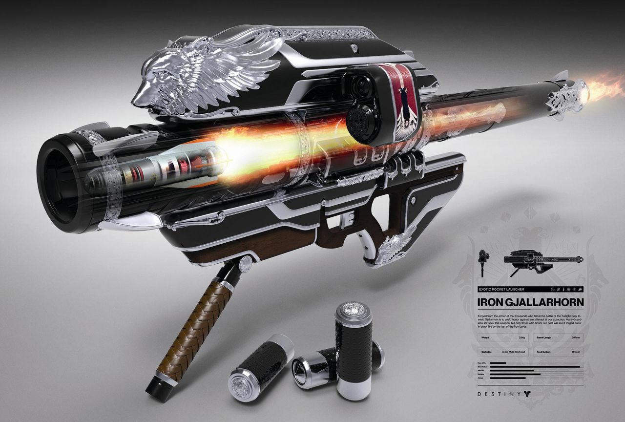 Destiny Rise Of Iron How To Get Year 3 And Iron Gjallarhorn Via