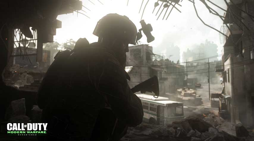 Call of Duty: Modern Warfare Remaster screenshots take us