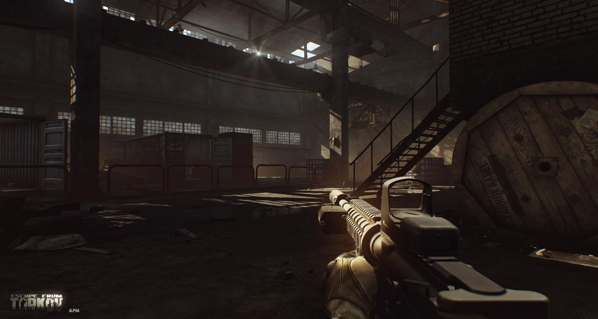 Escape from Tarkov continues to look impressive: new alpha
