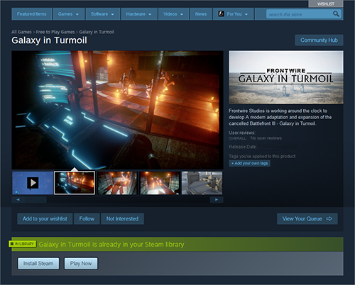 Fan Made Star Wars Battlefront 3 Game Heading To Steam As A Free Download Vg247