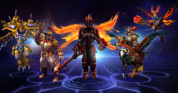 You can get 20 HotS Heroes for free just by logging in