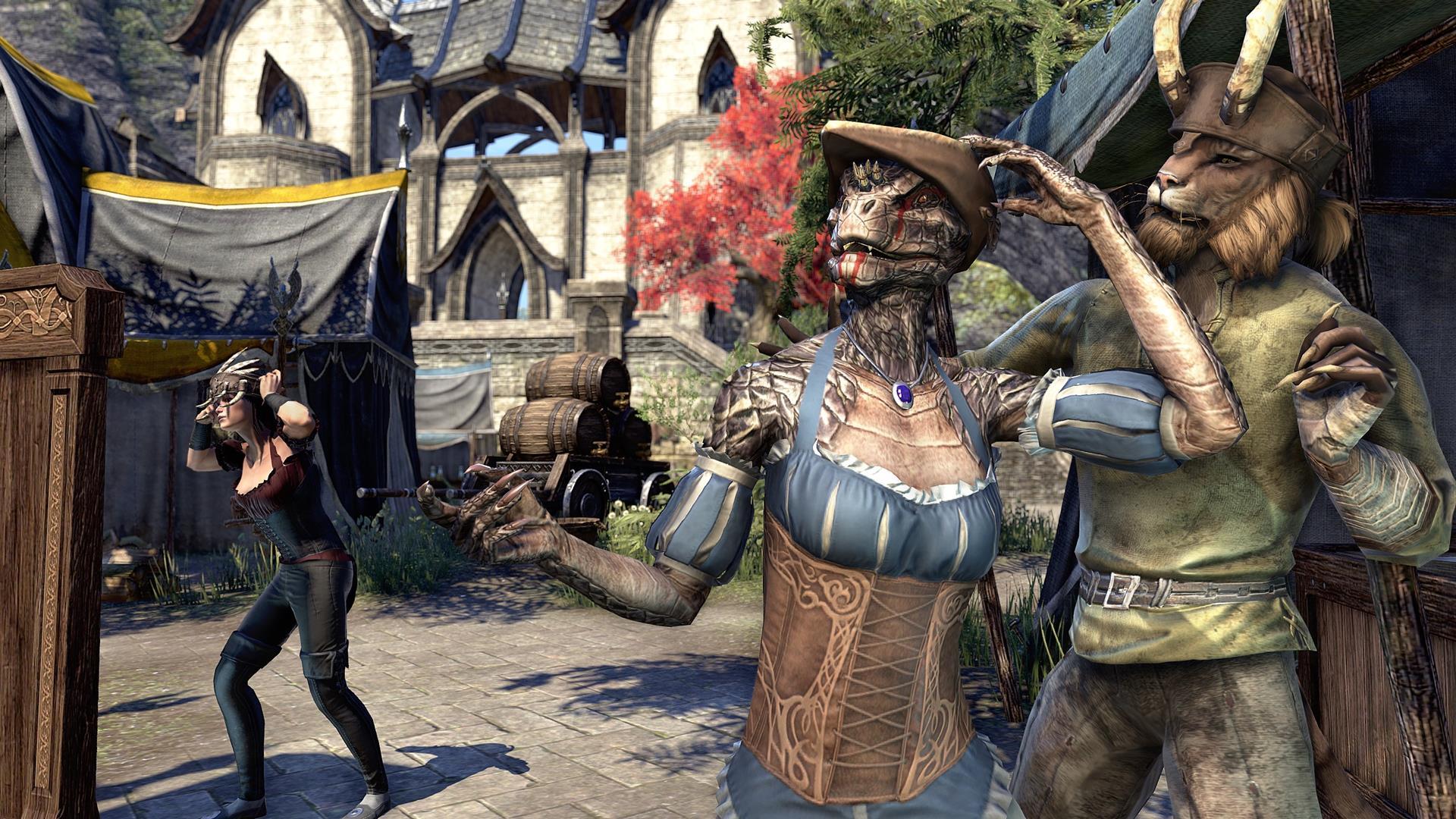 Group of Elder Scrolls Online Update
