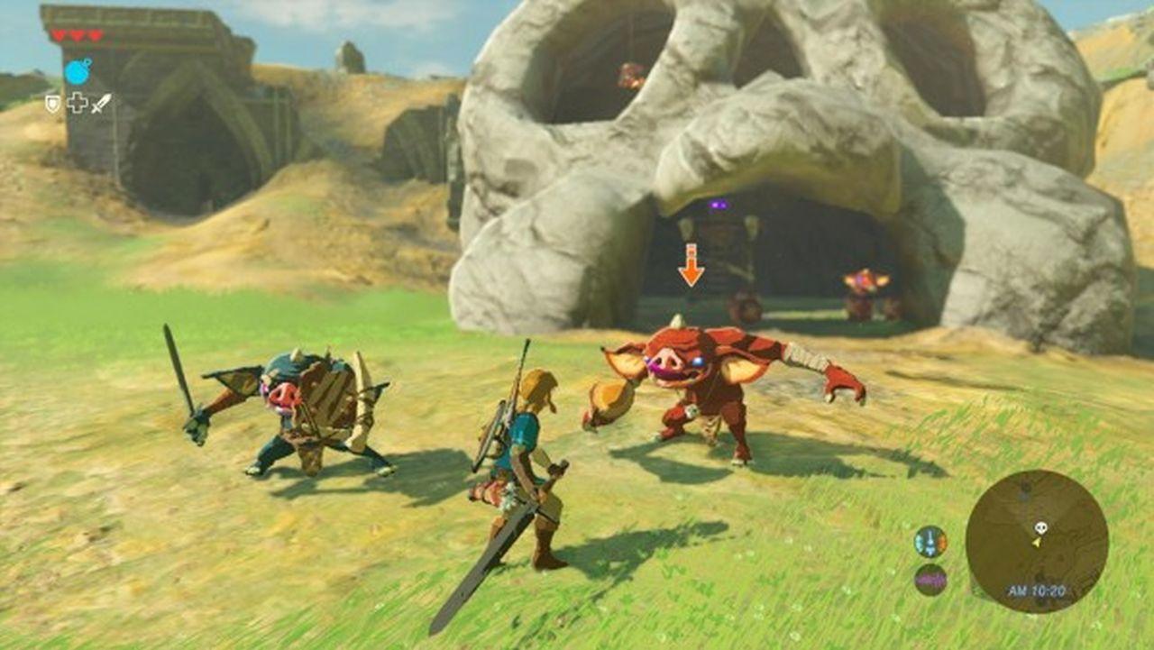 The Legend Of Zelda Breath Of The Wild E3 2016
