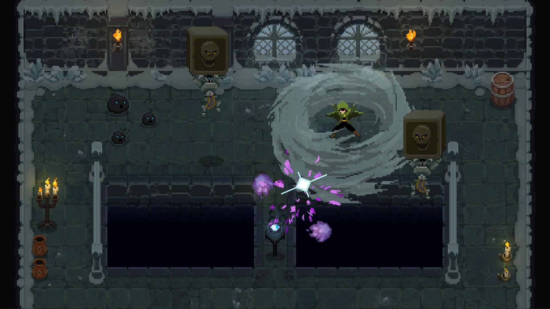 Wizard of Legend is a 2D dungeon crawler where wizards aren't boring