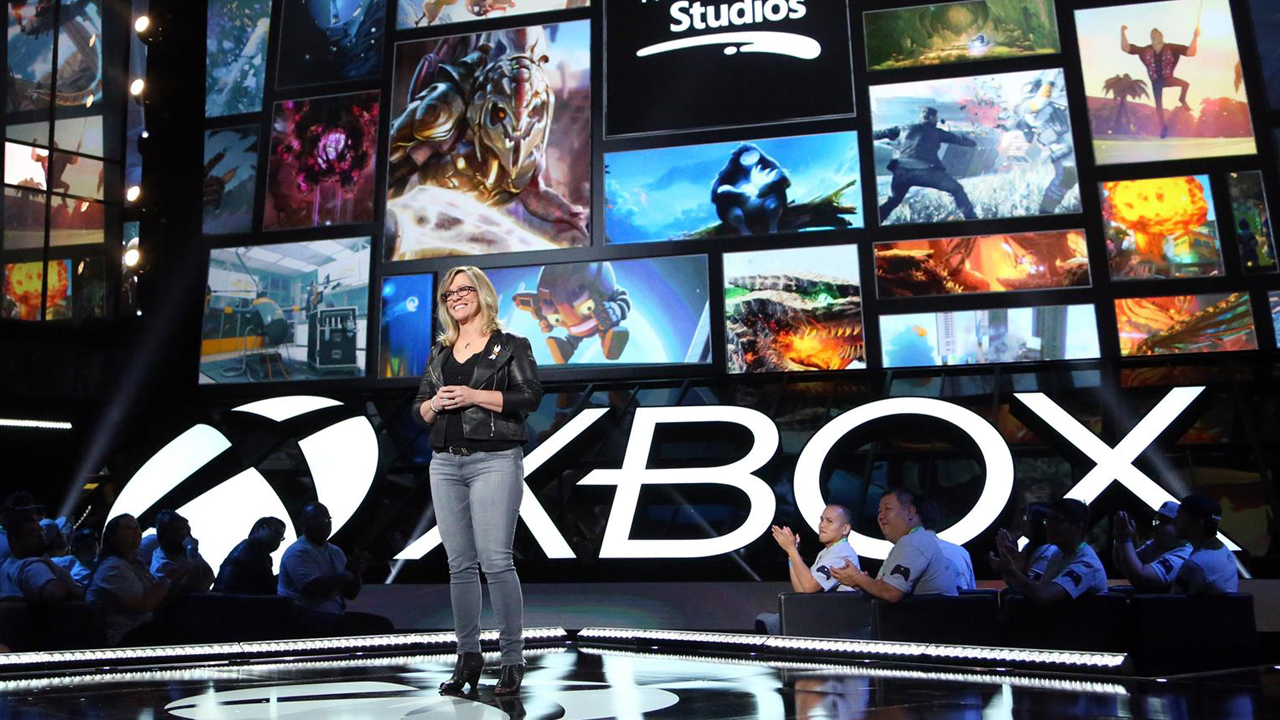 A general view of atmosphere is seen at the Xbox E3 2016 Briefing on Monday, June 13, 2016 in Los Angeles. (Photo by Casey Rodgers/Invision for Microsoft/AP Images)