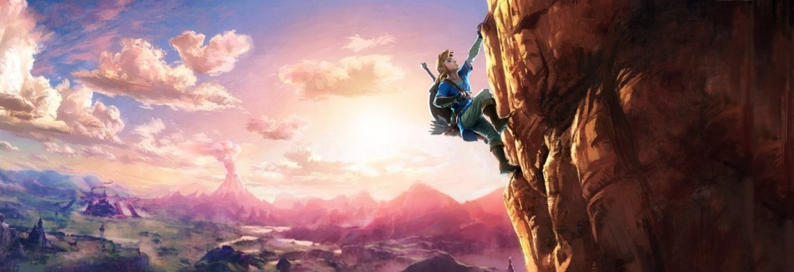 zelda wii u link climbing