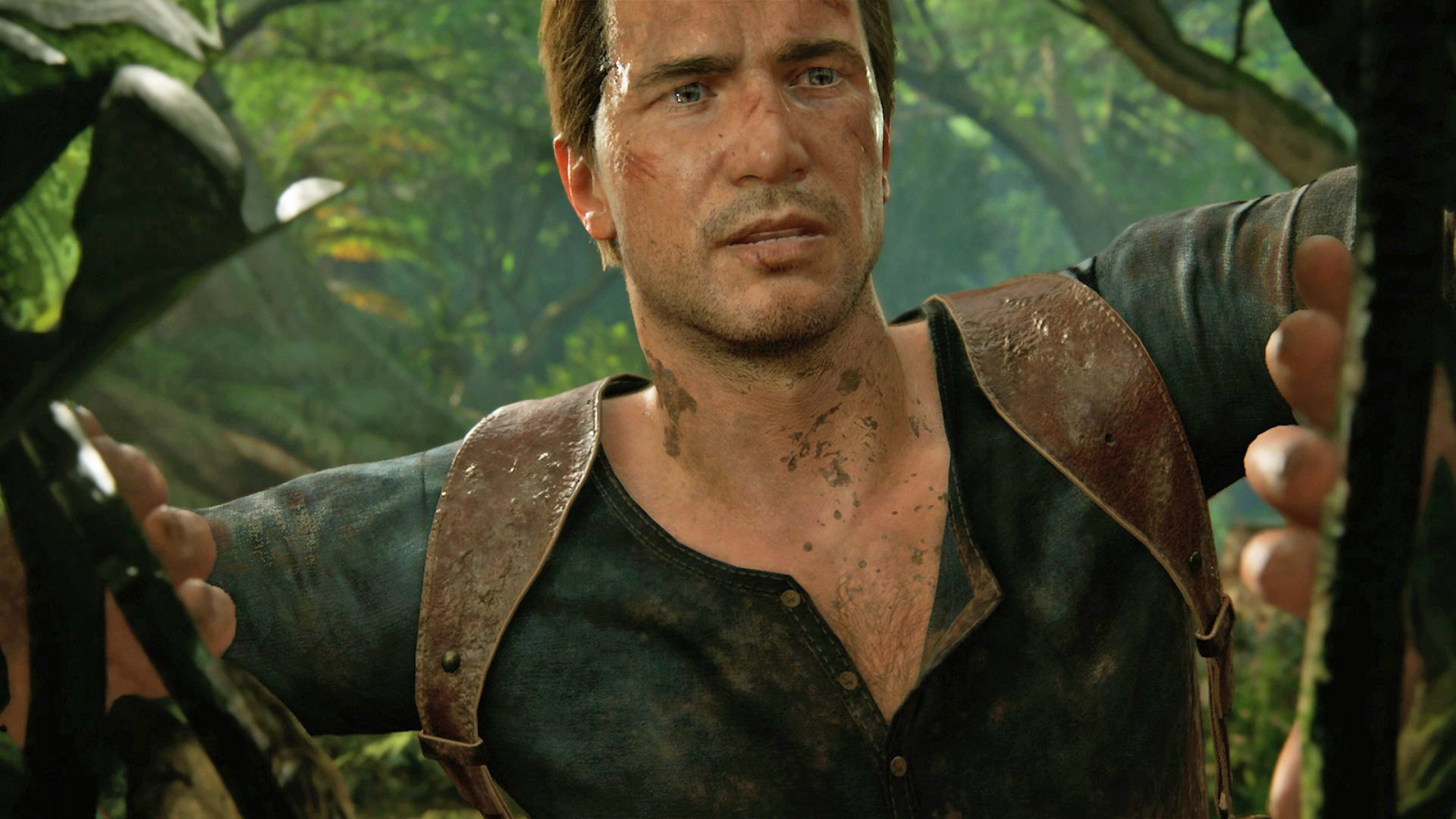 Uncharted 4 PS4 Pro 4k vs 1080p gameplay comparison