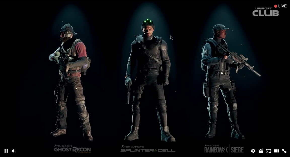The Division: Free Splinter Cell, Ghost Recon, Rainbow Six